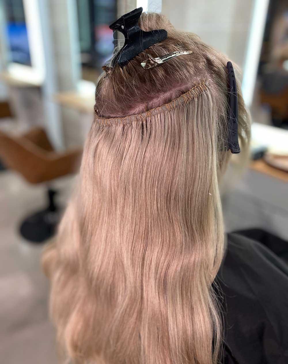 Hair Extensions Newcastle   Sleek Hair Extensions Example